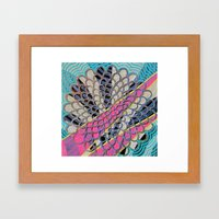 LOBSTER CLAM Framed Art Print