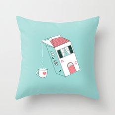 Housepour Throw Pillow