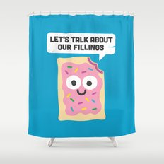 Tart Therapy Shower Curtain
