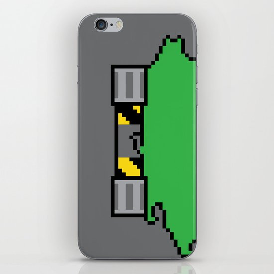 Teenage Mutant Ninja Pixels iPhone & iPod Skin