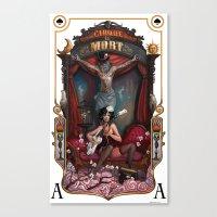 Cirque Du Mort Canvas Print