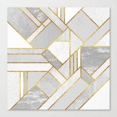 Gold City Canvas Print