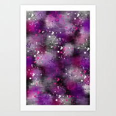 Spotty Blur Art Print