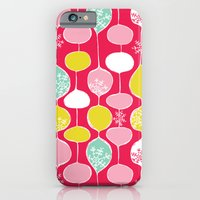 Snowflake Holiday Bobble… iPhone 6 Slim Case