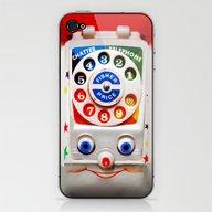 Retro Vintage Smiley Kid… iPhone & iPod Skin