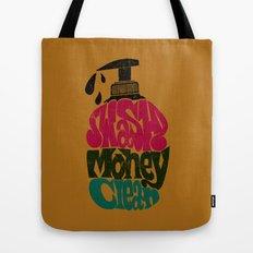 Wash Money Clean Tote Bag