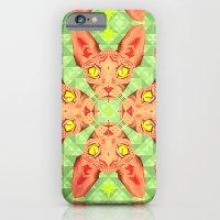 Sphynx Cat Pattern iPhone 6 Slim Case
