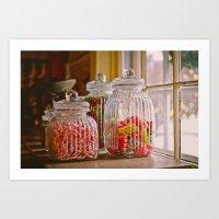 Candy Shop Art Print
