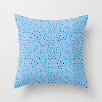 Pink Banana Peel On Baby… Throw Pillow