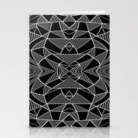 Abstraction Lines Mirror… Stationery Cards