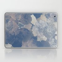 Airforce Blue Floral Hues  Laptop & iPad Skin