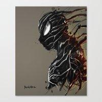 Web of Shadows Canvas Print