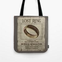 Lost Ring Tote Bag