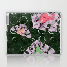 Flowers and Moths Laptop & iPad Skin