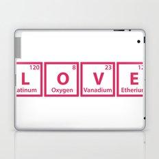 LOVE (chemical symbols) Laptop & iPad Skin