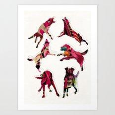 perros Art Print