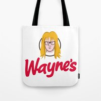 WAYNE'S SINGLE #2 Tote Bag