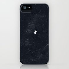 Gravity - Dark Blue iPhone (5, 5s) Slim Case