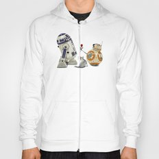 LOVE DROID & THE CAT Hoody