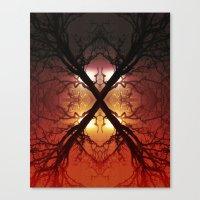 Quad Tree #1 Canvas Print
