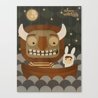 Where the wild things are fan art Canvas Print
