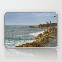 Yafo port coastline Laptop & iPad Skin