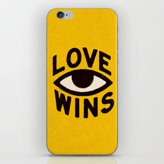 Love Wins iPhone & iPod Skin
