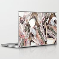 colorful Laptop & iPad Skins featuring Arnsdorf SS11 Crystal Pattern by RoAndCo