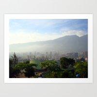 Mi Caracas Art Print