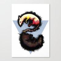 Rats. Canvas Print