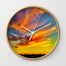 For the love of Dusk Wall Clock