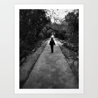 Narrow Road Art Print