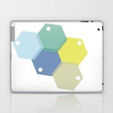Farbbienenstock Laptop & iPad Skin