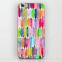 Colorful Dashes Tribal iPhone & iPod Skin