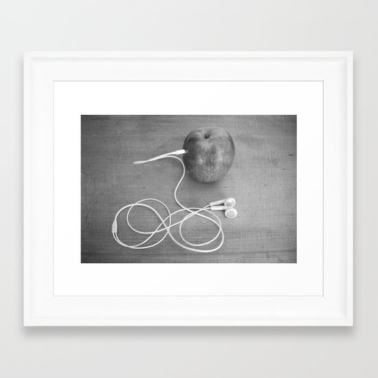 Wrong Apple Framed Art Print