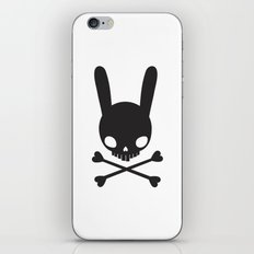 SKULL BUNNY OF PIRATES iPhone & iPod Skin