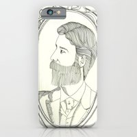 iPhone & iPod Case featuring bear-ded by Willy Ollero