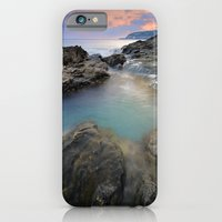 "iPhone Cases featuring ""Mediterraneo"" by Guido Montañés"