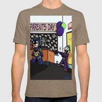 Parents Day Mens Fitted Tee Tri-Coffee SMALL