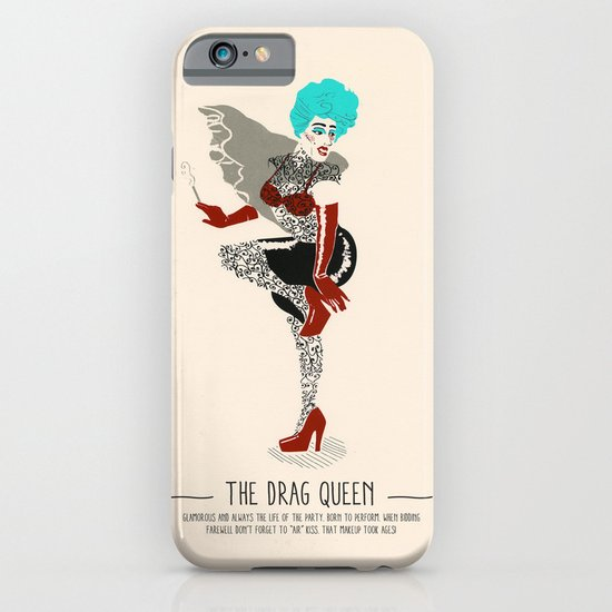 The Drag Queen - A Poster Guide to Gay Stereotypes iPhone & iPod Case