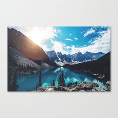 Lake Moraine Canvas Print