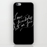 LOVE & FIRE iPhone & iPod Skin