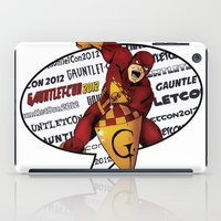 Gauntlet-Con Promotional Image iPad Case