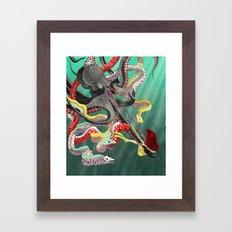 The Underdog Framed Art Print