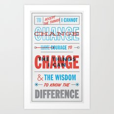 Change Art Print