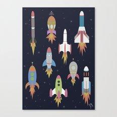 Rockets! Canvas Print