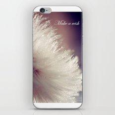 Fluffy white iPhone & iPod Skin
