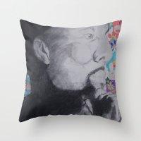 Common Murakami Throw Pillow