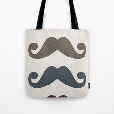 Stache Attack Tote Bag