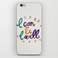 I Can And I Will iPhone & iPod Skin